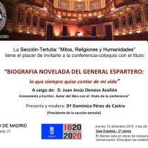 Conferencia en el Ateneo sobre Espartero